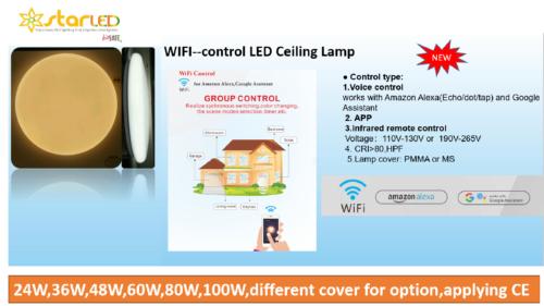 Smart LED Ceiling Light for Residential