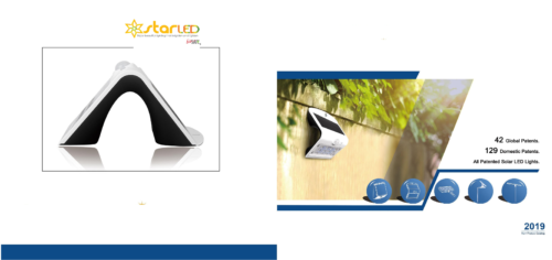 1) Solar Wall Light, Flood Light