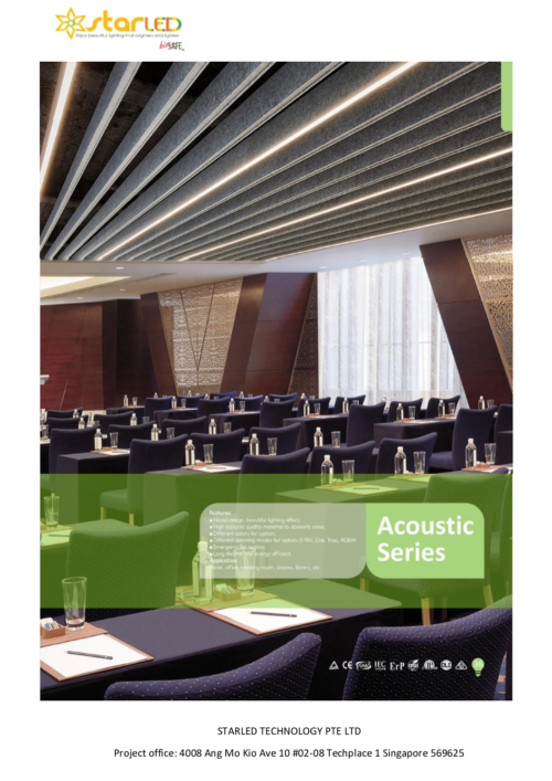 11) Acoustic Lighting Series