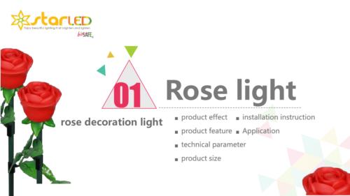 Rose Decoration Lights