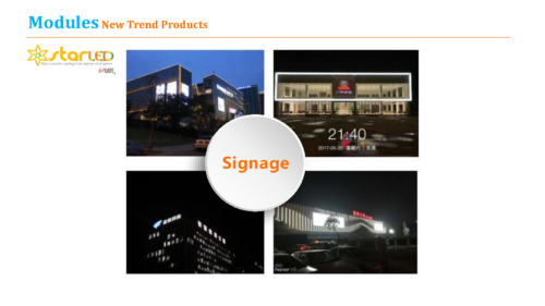 New Series LED Signage Module