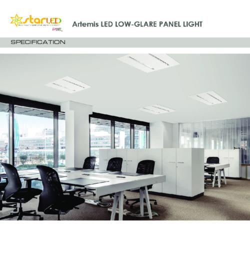 UGR16 Artemis LED Low-glare Panel Light