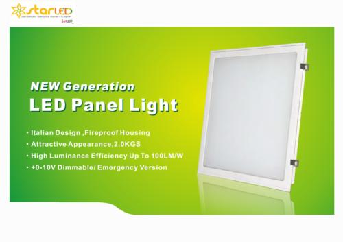 Backlit 600x600mm LED Panel Light
