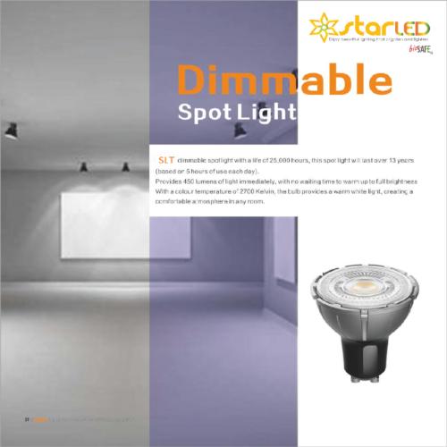 LED GU10 & MR16 Dimmable Spotlight