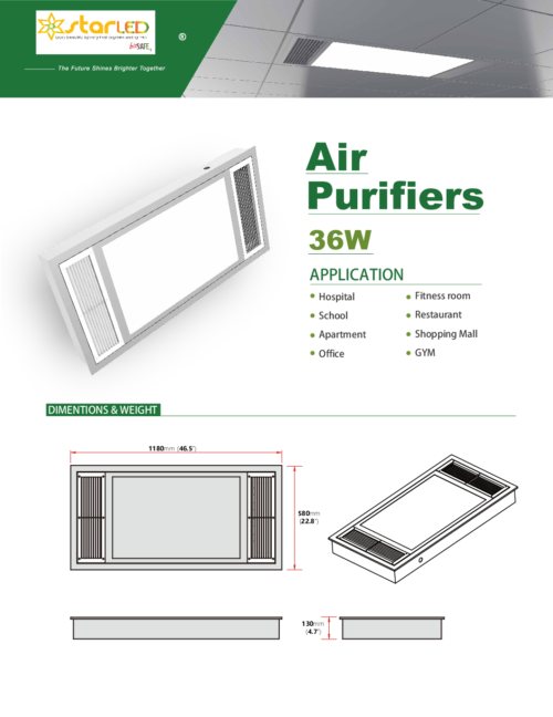 Air Purifers for 36W