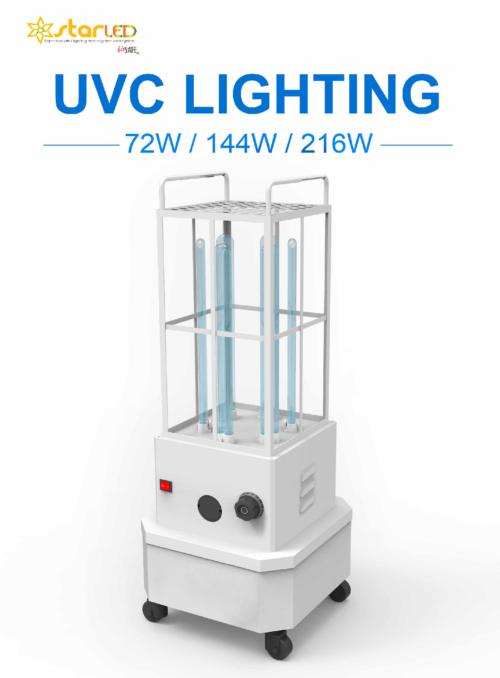 UVC Lighting for 72W, 144W & 216W