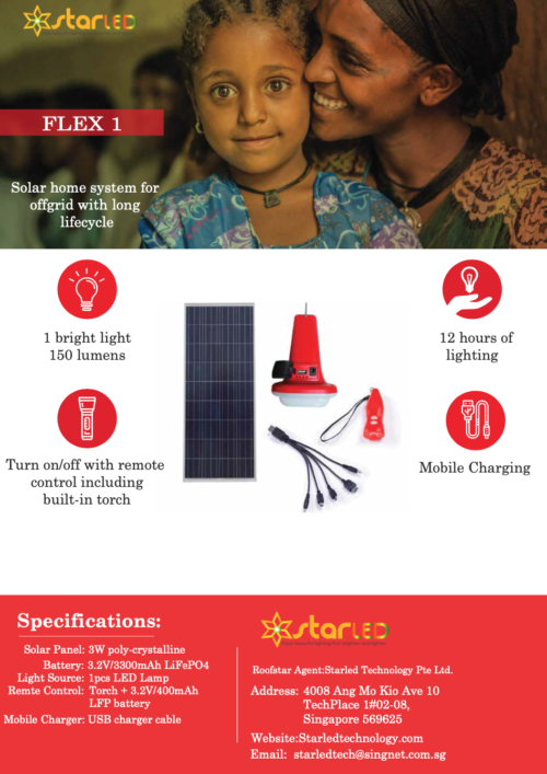 Roofstar Solar Home System