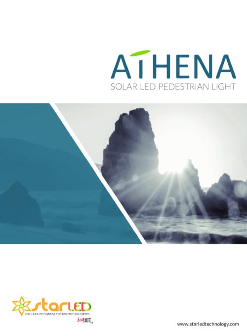 Athena Solar Landscape Light