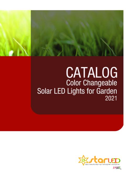 Colour Changeable Solar LED Garden Light