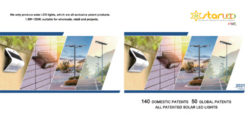New Catalog for LED Solar Light